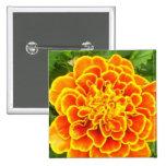 Orange Marigold Pin