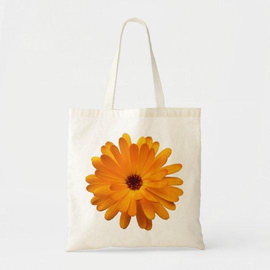 Orange Marigold Tote Bag
