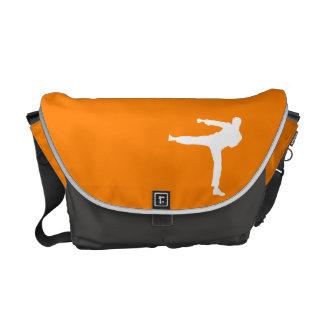 Orange Martial Arts Messenger Bag