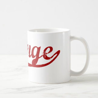 Orange Massachusetts Classic Design Coffee Mugs