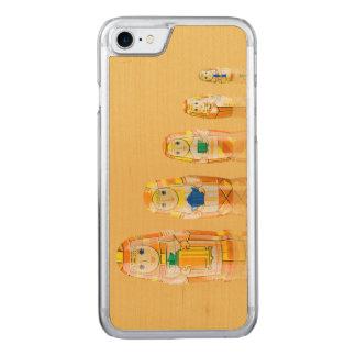 Orange Matryoshka Russian Dolls iPhone 6 Slim Carved iPhone 7 Case