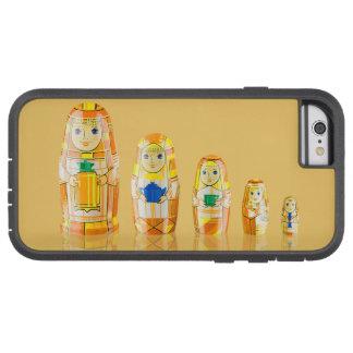 Orange Matryoshka Russian Dolls Phone 6 Case Tough Xtreme iPhone 6 Case