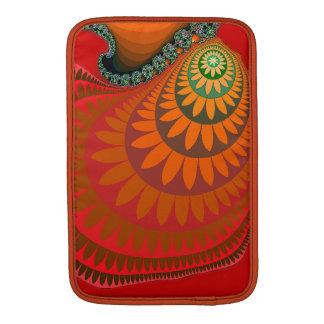 """Orange Mayan Sunflower Macbook Air 11"""" Sleeve MacBook Air Sleeve"""
