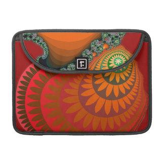 "Orange Mayan Sunflower Macbook Pro 13"" Sleeve MacBook Pro Sleeve"