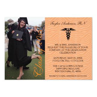 Orange Medical RN School Graduation Announcement