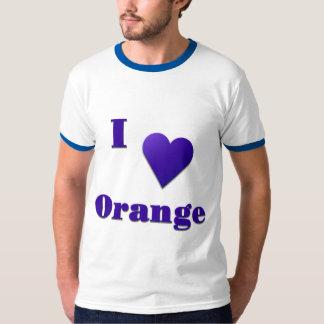 Orange -- Midnight Blue Tee Shirt
