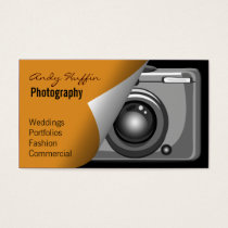 orange Mod Photoraphy, camera Business Card