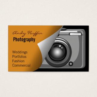 orange Mod Photoraphy, camera Business Card