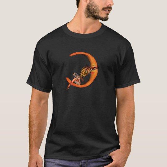 Orange Monarch Pixie Butterfly Fairy 5 - T-Shirt