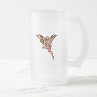 Orange Monarch Pixie Butterfly Fairy 7 - Coffee Mugs