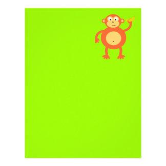 Orange Monkey Letterhead
