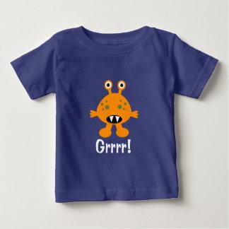 Orange Monster - Baby Fine Jersey T-Shirt