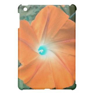 Orange Morning Glory iPad case