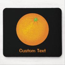 Orange Mouse Pad