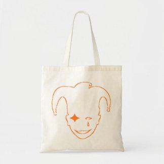 Orange MTJ Tote Bag