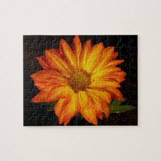 Orange Mum Jigsaw Puzzle