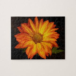 Orange Mum Jigsaw Puzzle