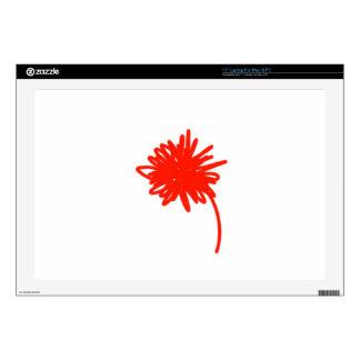 """Orange Mum 17"""" Laptop Decal"""
