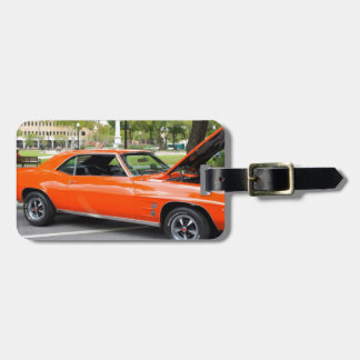 Orange Muscle Tag For Luggage