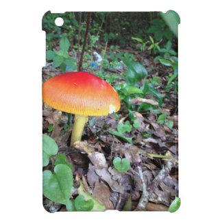 Orange Mushroom in Forest iPad Mini Cases