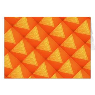 Orange n Golden Triangle : Ginnies n Biscuits Card