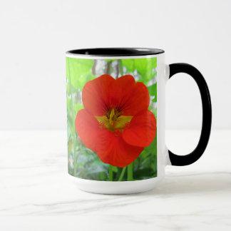 Orange Nasturtiums Flower Mug
