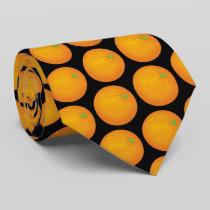 Orange Neck Tie