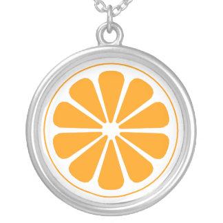 orange. pendants