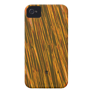 Orange Neon Scratch iPhone 4 ID Case