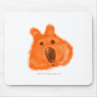 Orange Nosed Critter Mousemat