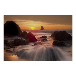 Orange Ocean poster