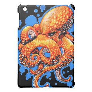 Orange Octopus iPad Mini Cases