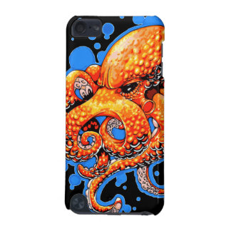 Orange Octopus iPod Touch 5G Case