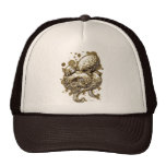 orange octopus -Sep Trucker Hat