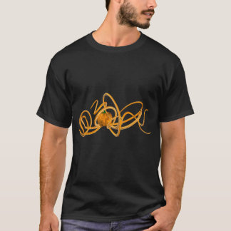 Orange Octopus T-Shirt