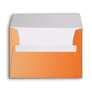 Orange Ombre A7 Envelope
