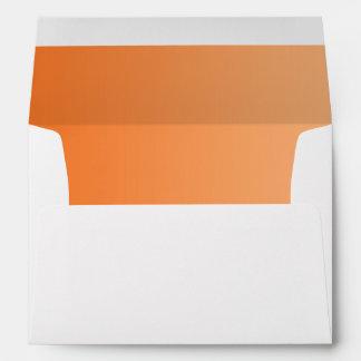 Orange Ombre A7 Envelope