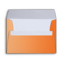 Orange Ombre Envelope