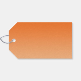 Orange Ombre Gift Tags