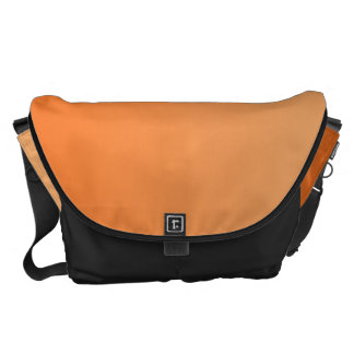 Orange Ombre Large Courier Bag