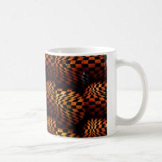 Orange Optical Pop Art Mug