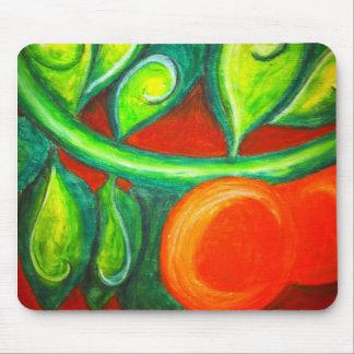 Orange Orchard Mouse Pad