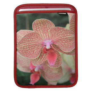 Orange Orchids iPad Sleeves