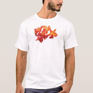 Orange Orchids Mens T-Shirt