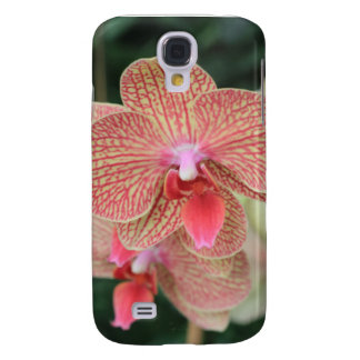 Orange Orchids Samsung Galaxy S4 Cover