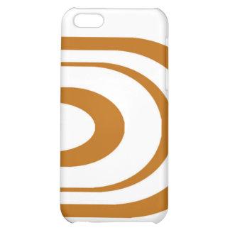 Orange Oval Graphic Case For iPhone 5C