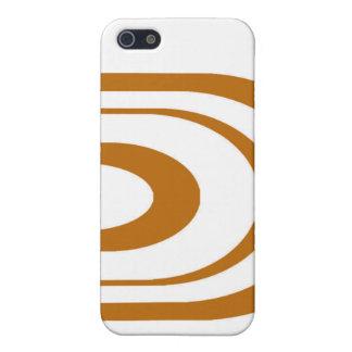 Orange Oval Graphic iPhone 5 Cases