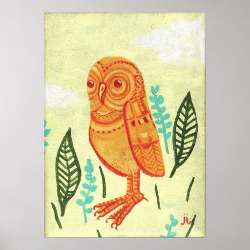 Orange_Owl Póster