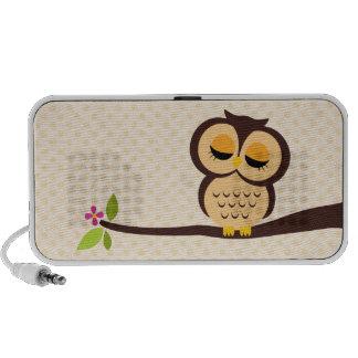 Orange Owl Mp3 Speakers