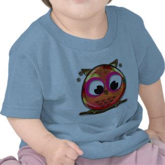 Orange owl t-shirts